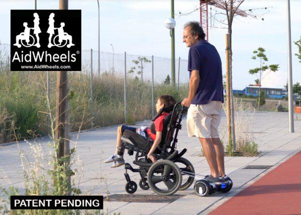 aidwheels hoverboard wheelchair