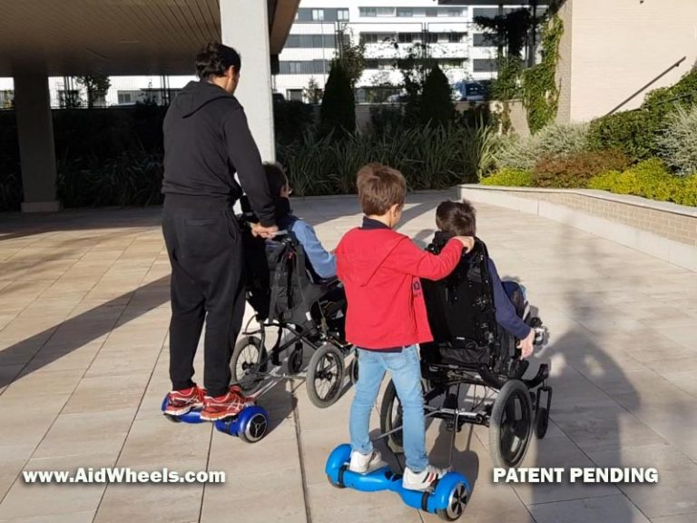 hoverboard wheelchair