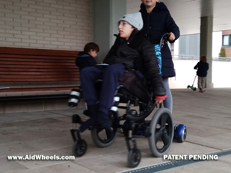 aidwheels hoverboard wheelchair