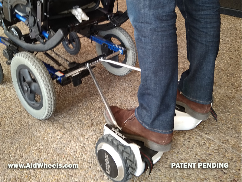 aidwheels wheelchair hoverboards
