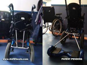 como usar hoverboard silla de ruedas