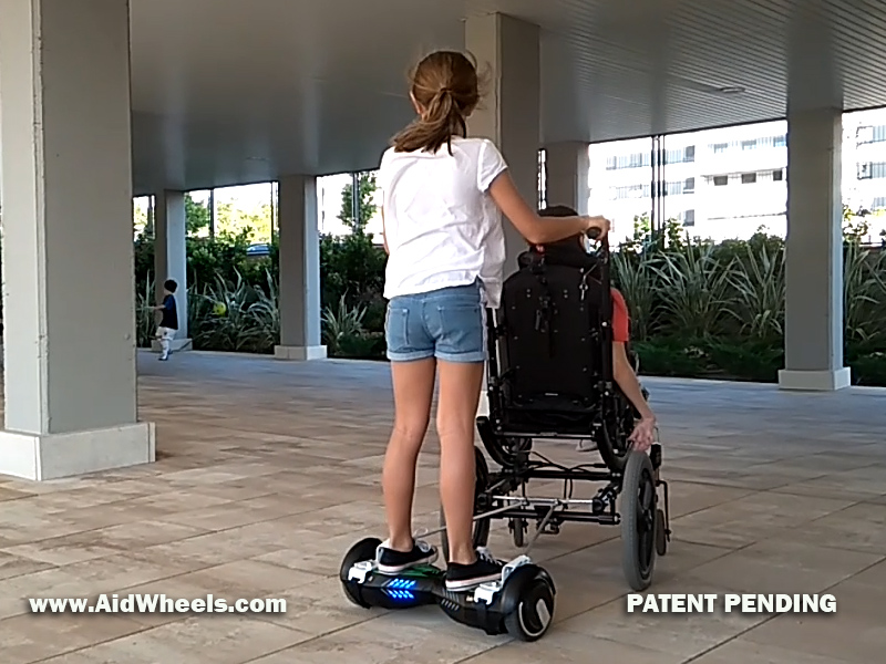 wheelchair electric scooter
