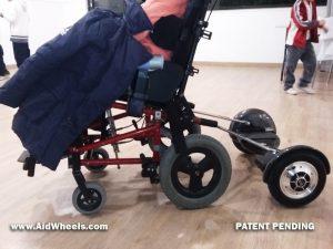 instalar hoverboar silla de ruedas