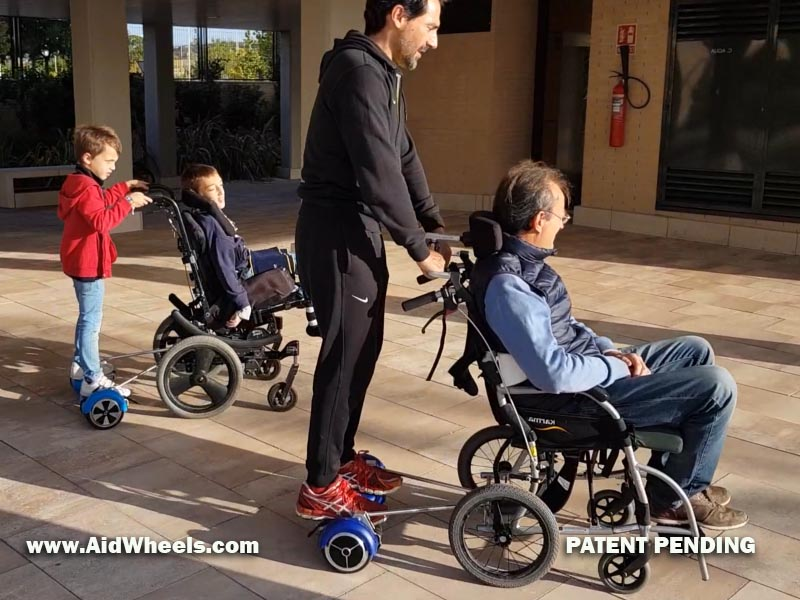 wheelchair hoverboard invention where to buy