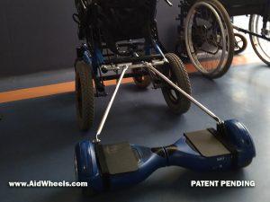 montaje hoverboard silla de ruedas