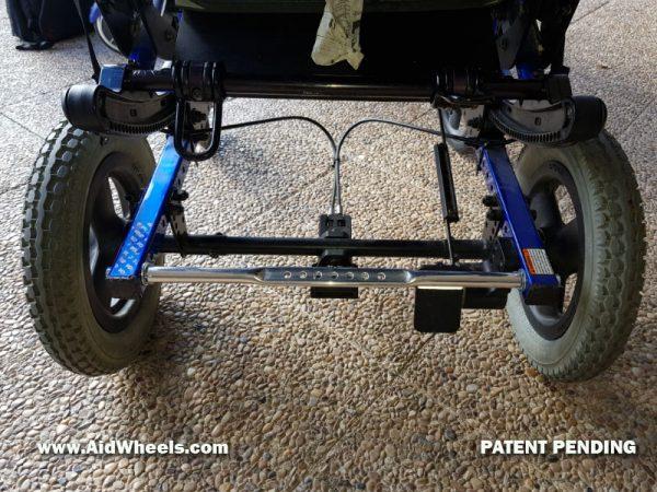 adaptador hoverboard silla quickie iris basculante paralisis cerebral