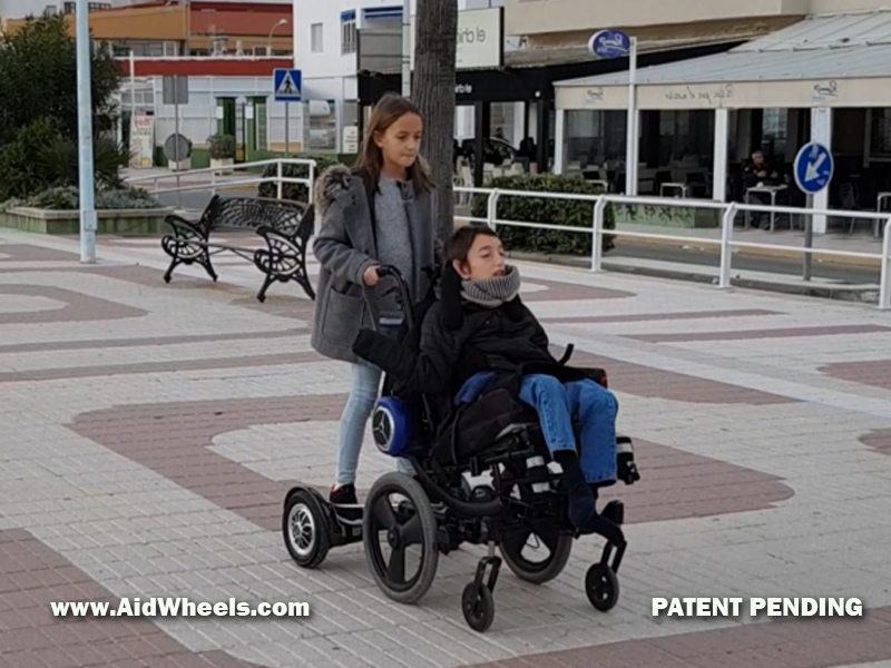 assistant power attachment for wheelchairs hoverboards