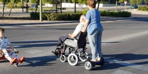 pasear sillas ruedas