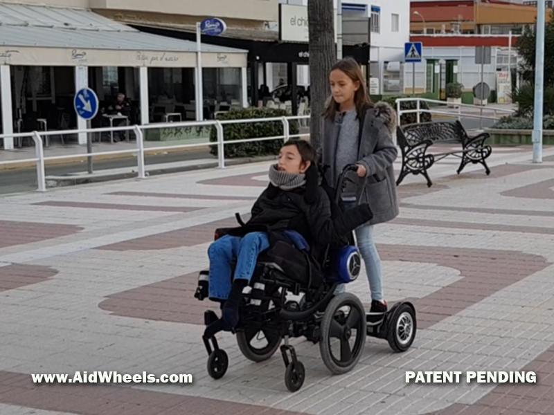 electric wheelchairs hoverboard power pack hoverpusher