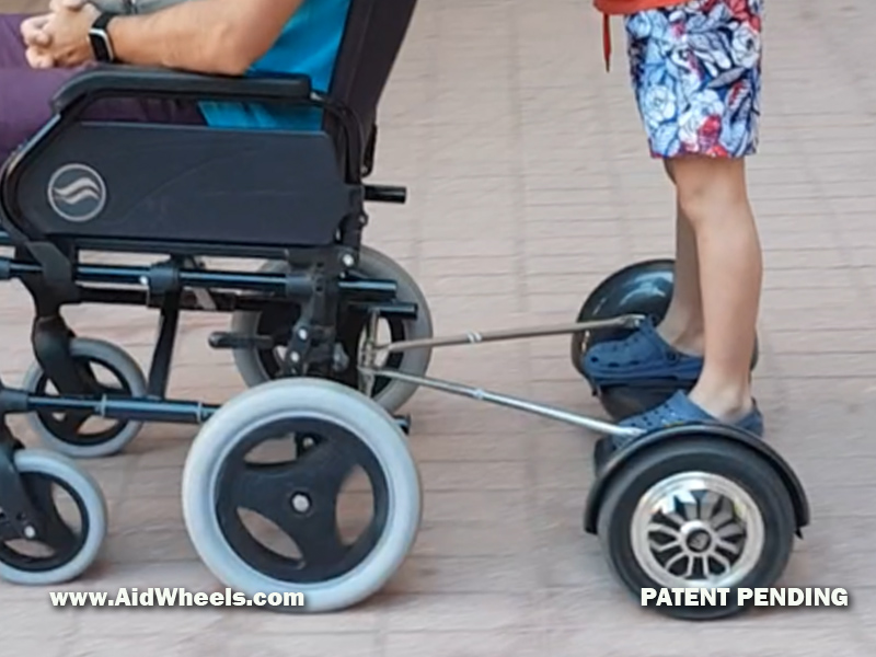 hoverboard wheelchair hoverpusher