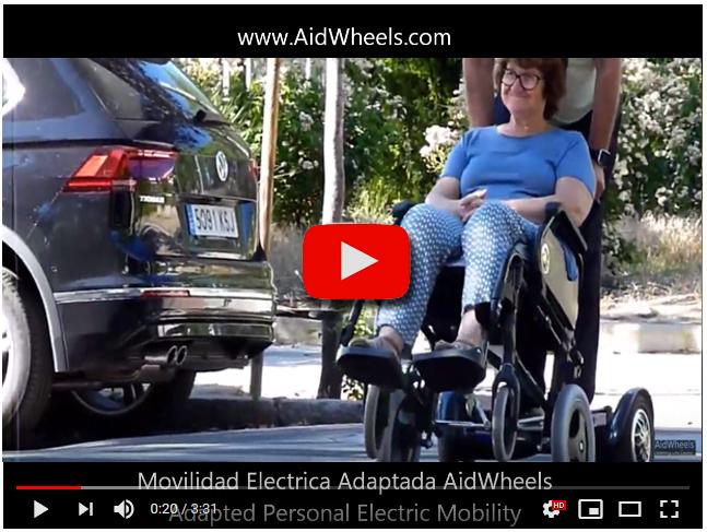 motor auxiliar silla ruedas