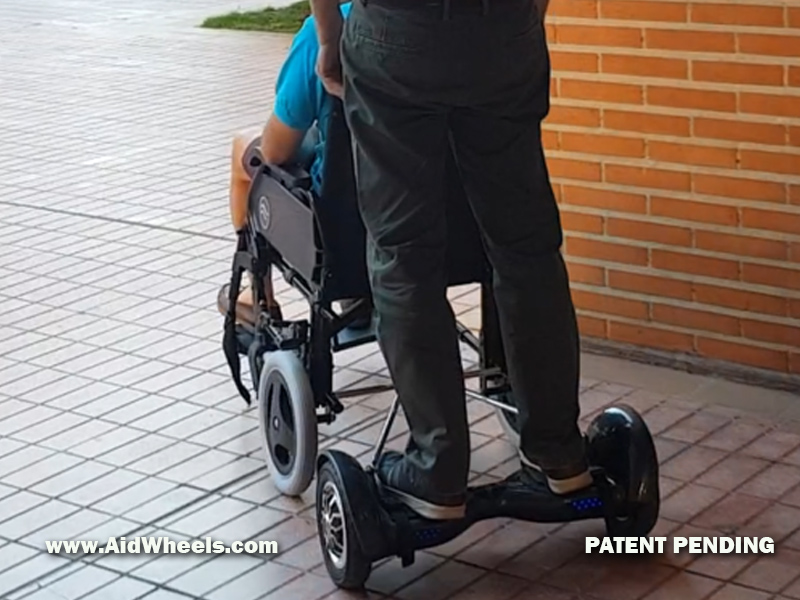 manual wheelchair power assist