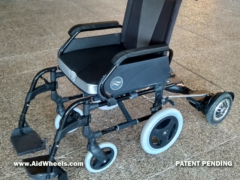 manual wheelchair power pack electric