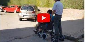 motor auxiliar silla ruedas asistente