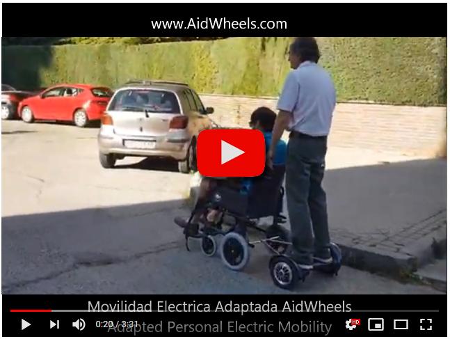 Motor auxiliar sillas de ruedas manuales