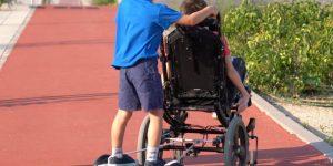 motor auxiliar silla de ruedas