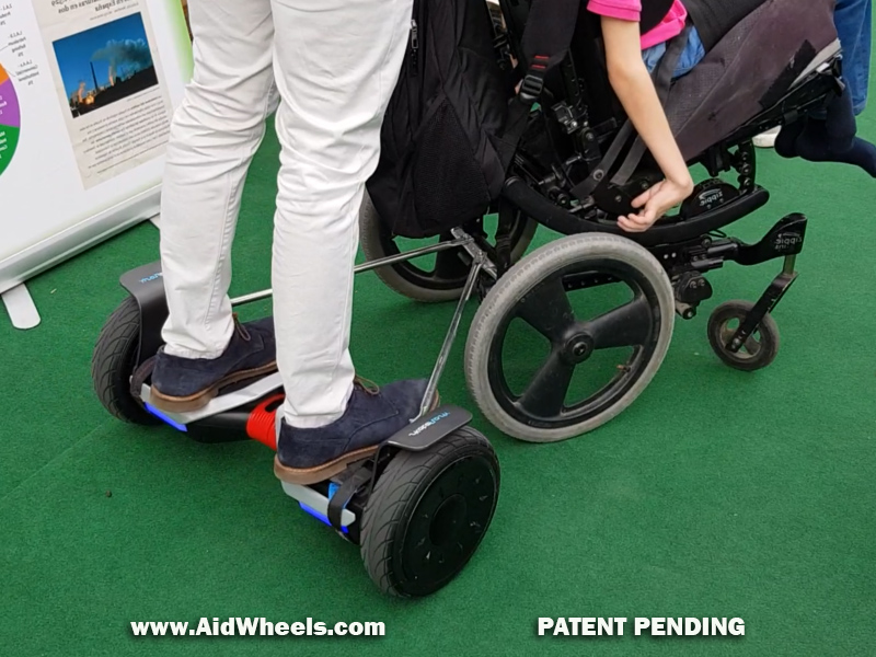 smartcities wheelchair hoverboard