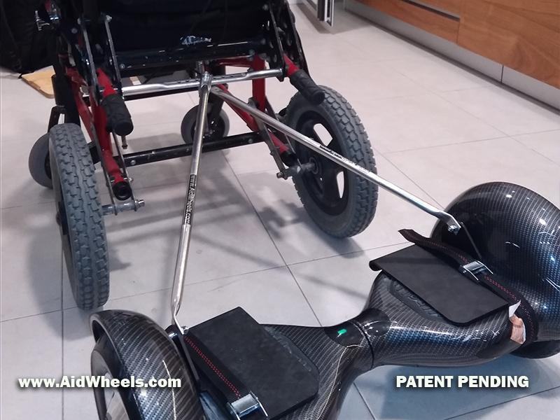 hoverboard silla ruedas Zippie