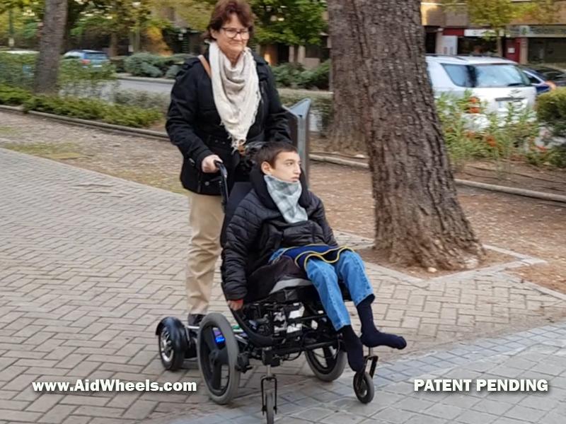 pusherboard wheelchairs