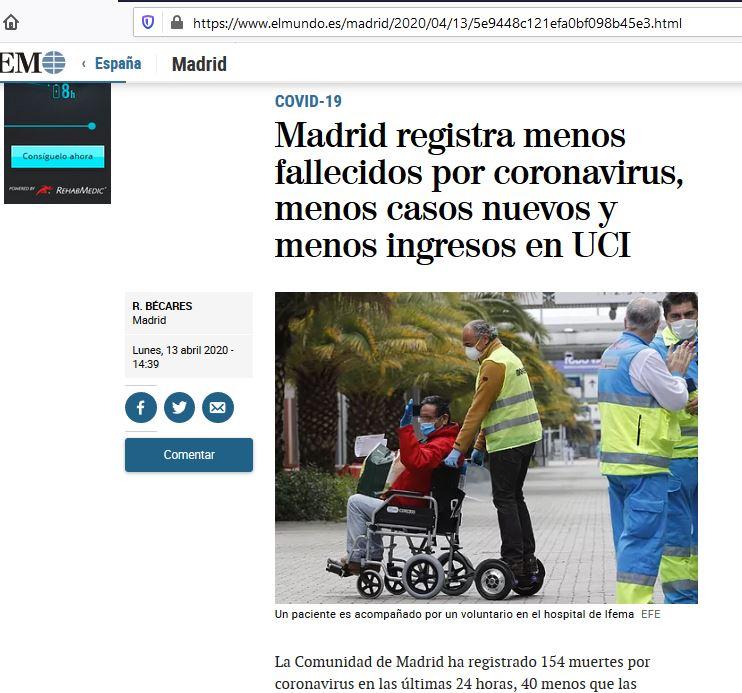 silla de ruedas hoverboard hospital IFEMA madrid covid-19
