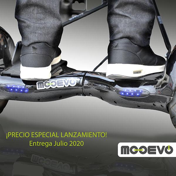 Mooevo Go Motor Ayuda Acompañante para Silla ruedas de aluminio autopropulsable Linus 500