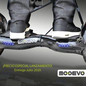 Mooevo Go Motor Asistente para Silla de ruedas aluminio rueda 24 Breezy Style