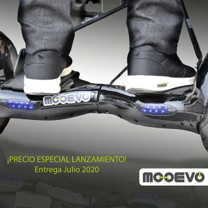 Mooevo Go Motor Asistente para Silla de ruedas de aluminio para transito Neptuno Mobiclinic