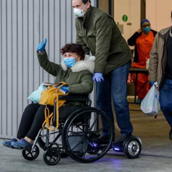 Mooevo Go Motor Empuje Paseo para Silla de ruedas para ancianos Giralda Mobiclinic