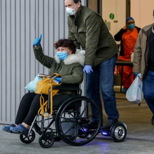 Mooevo Go Motor Acompañante para Silla de ruedas paralisis cerebral QTDH