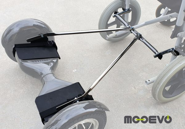 Adaptador Mooevo para Hoverboard a Silla de Ruedas
