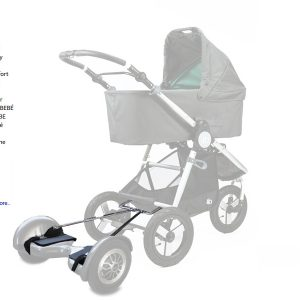 Adaptador Mooevo para Hoverboard para Carritos de Bebé