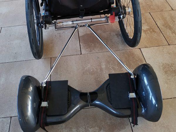 Adaptador Mooevo para Hoverboard a Thule Chariot