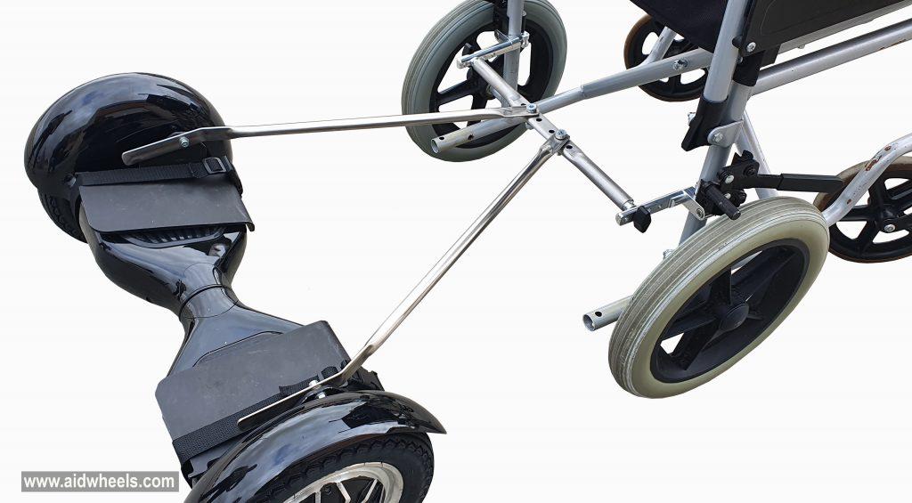 patinete silla ruedas adaptador
