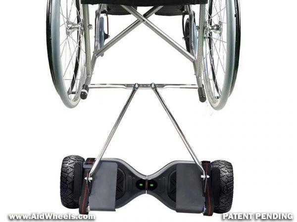 AIDWHEELS adaptador hoverboard a sillas de ruedas UNIVERSAL